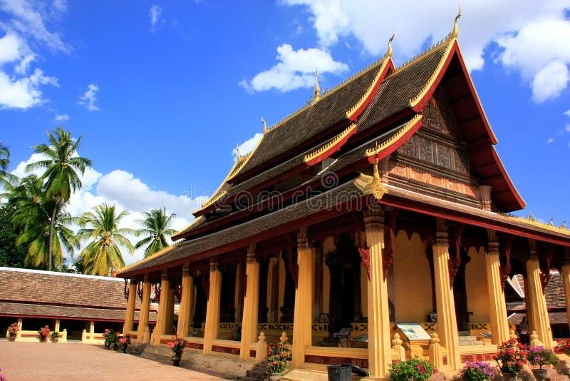Wat Si Saket, Vientiane, Laos immagini stock