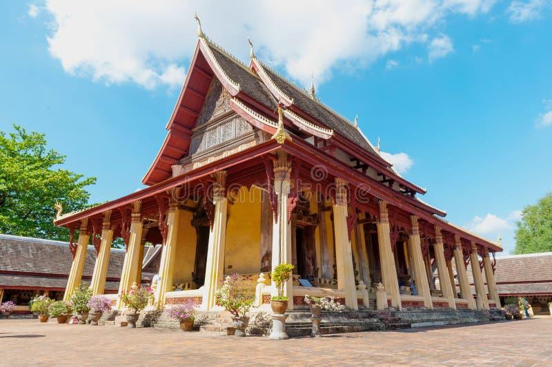 Wat Si Saket, Vientiane, Laos fotografia stock