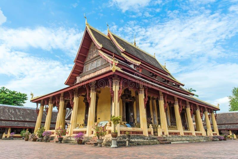 Wat Si Saket, Vientiane, Laos, Southeast Asia.  royalty free stock image