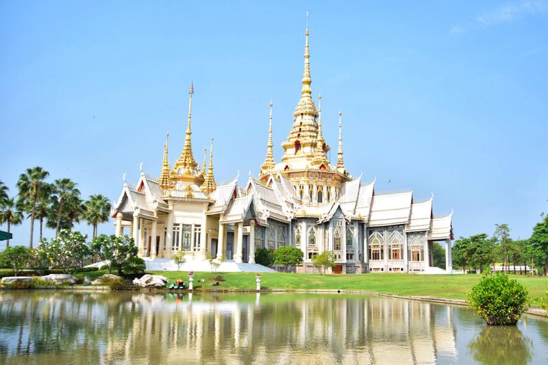 Wat Sorong, Sikhiu, Nakhon Ratchasima foto de stock