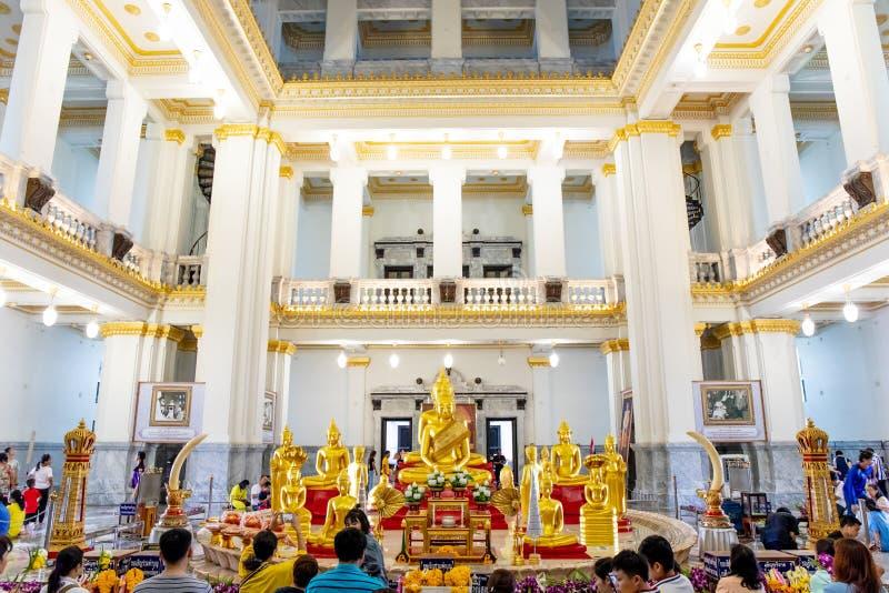 Wat Sothon Wararam Worawihan Temple in Chachoengsao Province, Thailand. royalty free stock photography