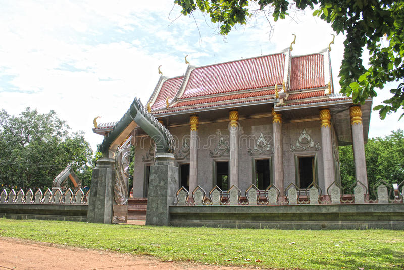 Wat Sra Morakot arkivfoto