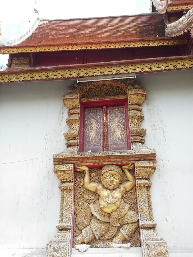 Wat Sri Suphan immagine stock