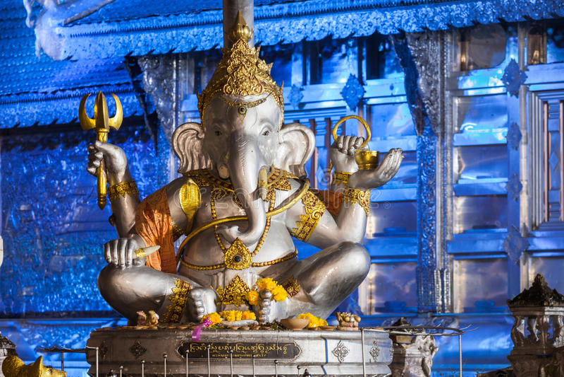 Wat Sri Suphan stockfotografie