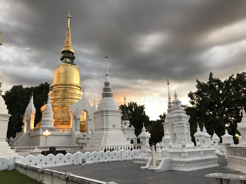Wat Suan Dok, Chiang Mai photos stock