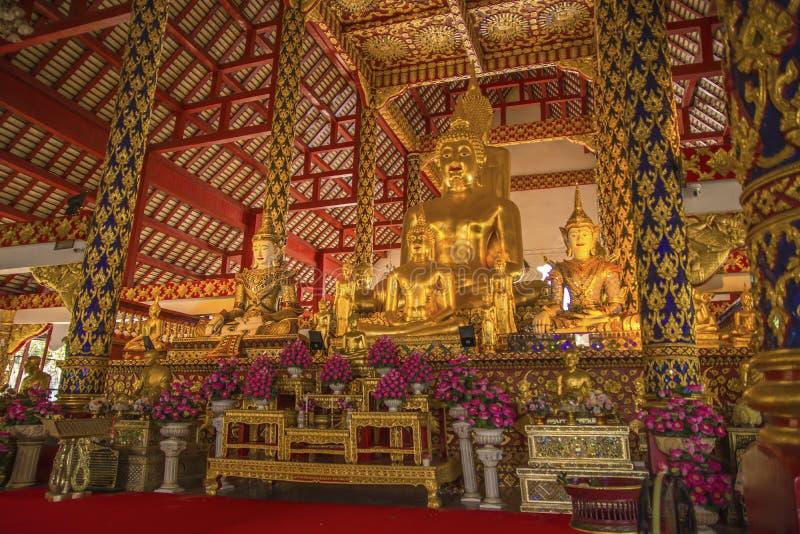 Wat Suan Dok, Chiangmai, Таиланд стоковое фото rf