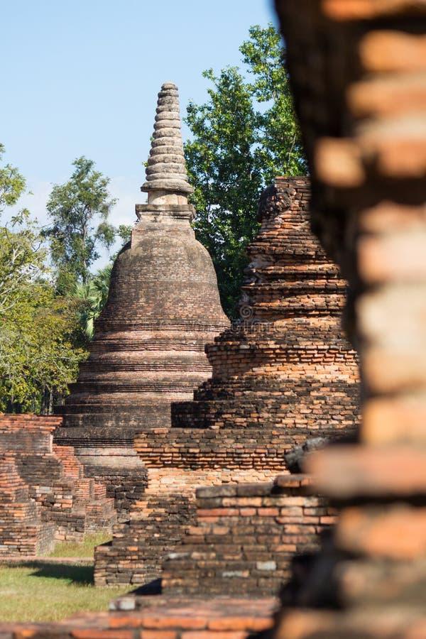 Wat Sukothai imagenes de archivo