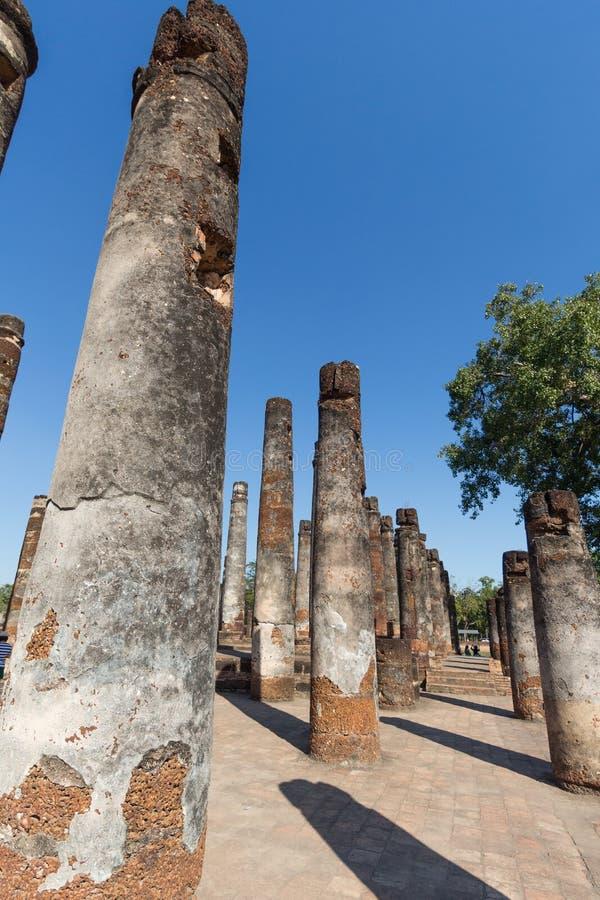 Wat Sukothai, Thaïlande photo libre de droits