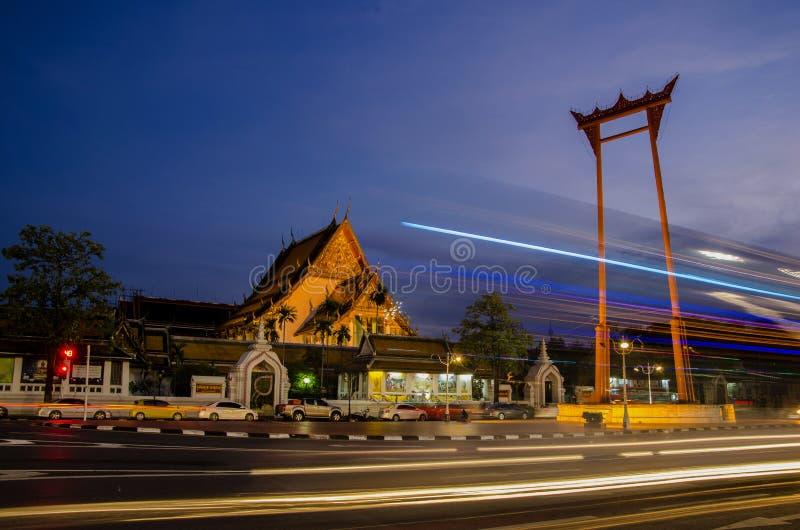 Wat Suthat Бангкок, Таиланд стоковая фотография