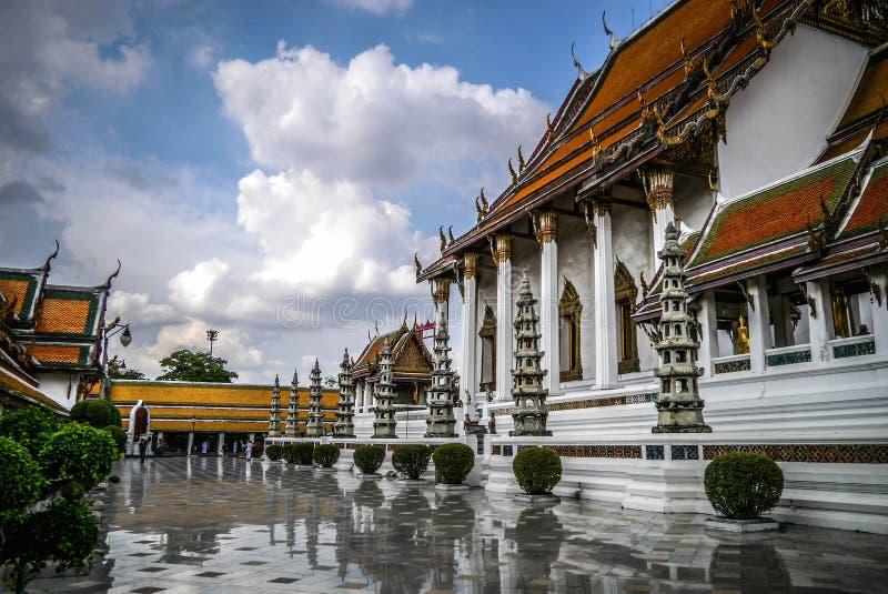 Wat Suthat a Bangkok immagini stock libere da diritti