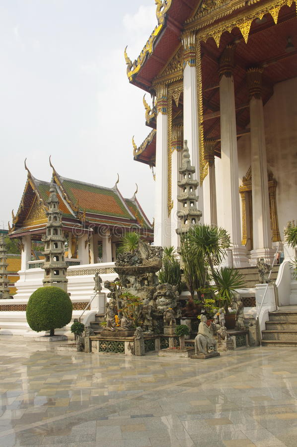 Wat Suthat Thep Wararam stock image