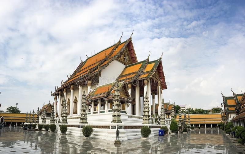 Wat Suthat Thepphawararam Ratchaworamahawihan stockbilder