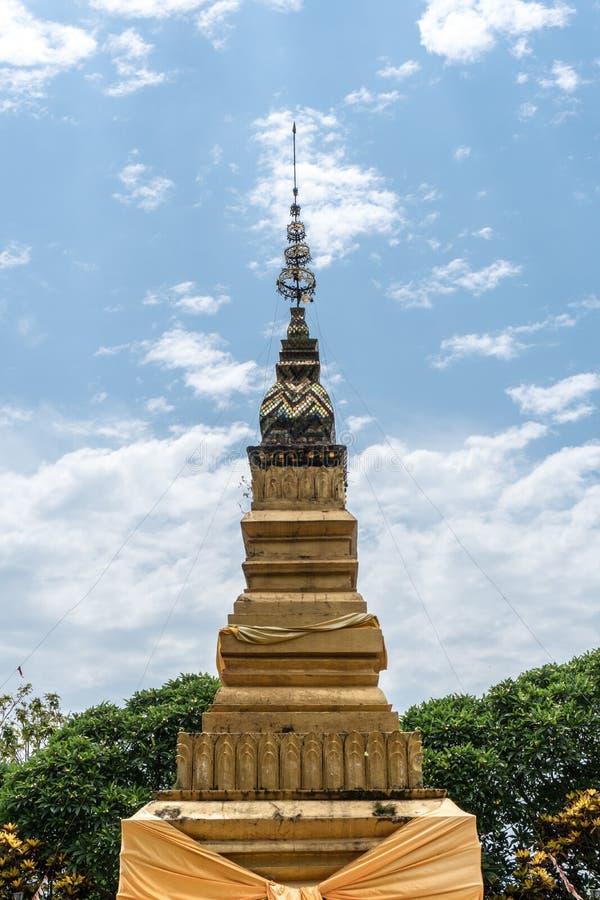 Wat Suvanna Pakham,老挝 免版税库存照片
