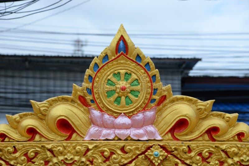 Wat Suwan Khirikhet royalty-vrije stock foto