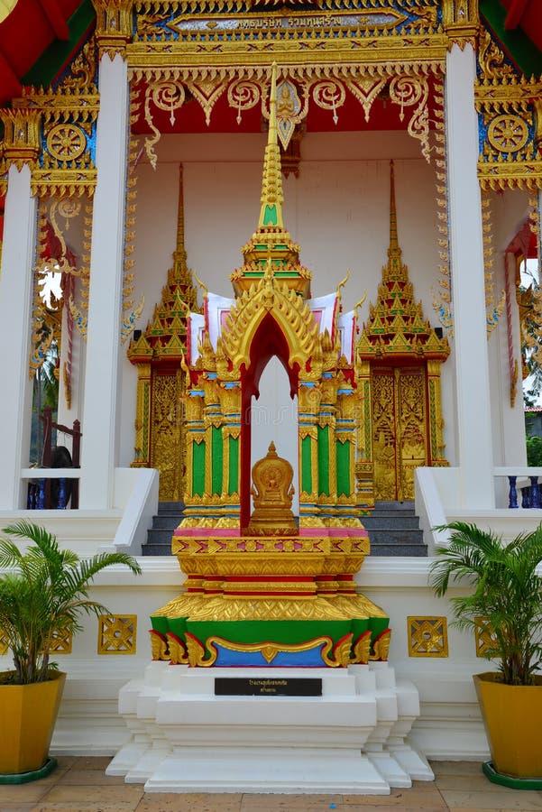 Wat Suwan Khirikhet stock fotografie