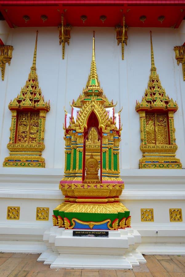 Wat Suwan Khirikhet royalty-vrije stock afbeelding