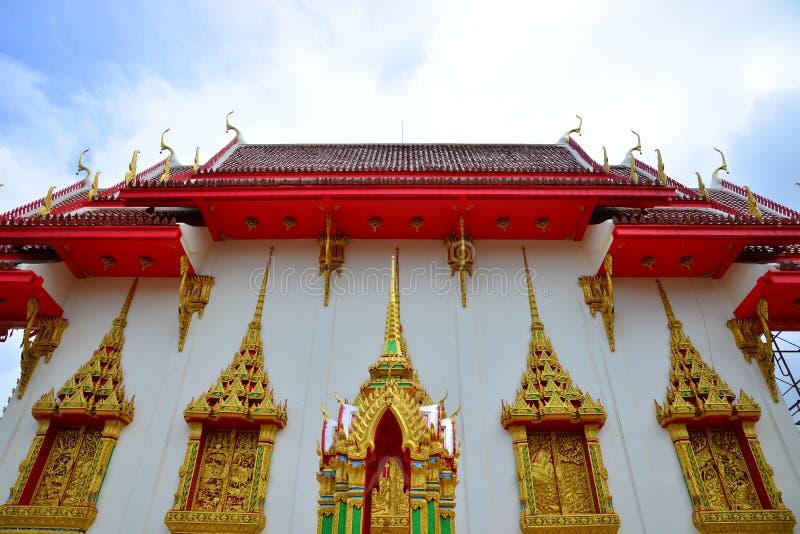 Wat Suwan Khirikhet royalty-vrije stock fotografie