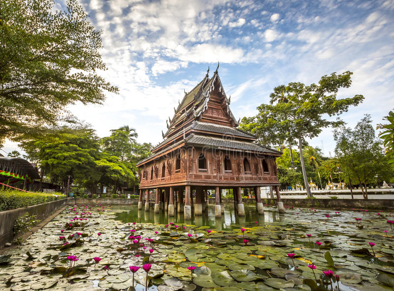Wat tailandés foto de archivo libre de regalías