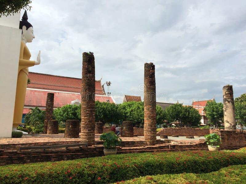 Wat tailandês foto de stock