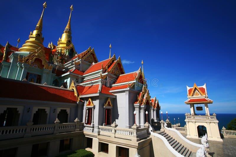 Wat Tang Sai au jour ensoleillé, Thaïlande image libre de droits