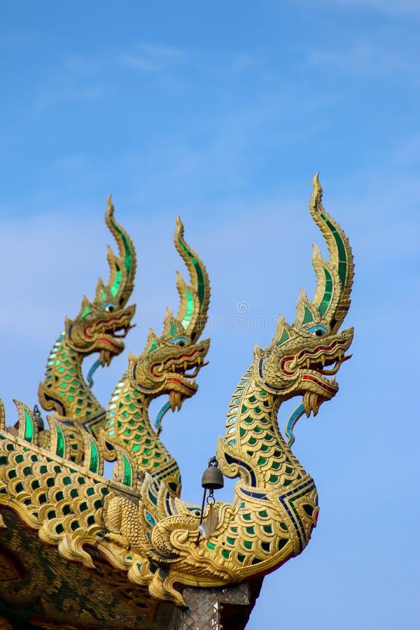 Wat Tha Ngio - βουδιστικός ναός, Lamphun Ταϊλάνδη στοκ εικόνες με δικαίωμα ελεύθερης χρήσης