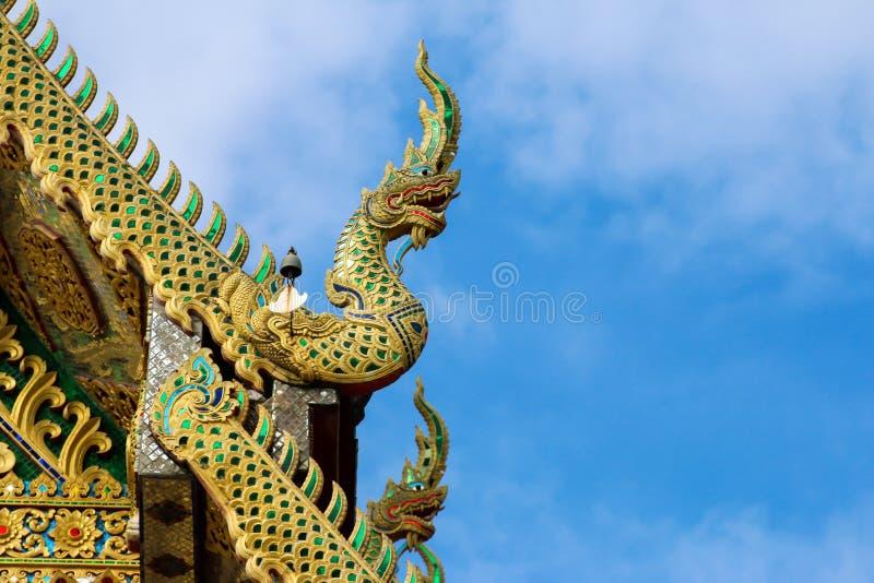 Wat Tha Ngio - buddhistischer Tempel, Lamphun Thailand lizenzfreie stockfotografie