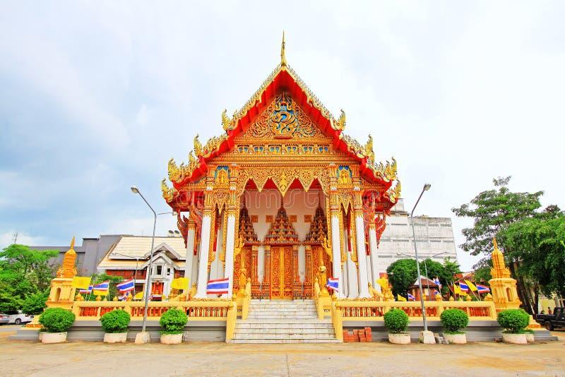 Wat Tham Bucha, Surat Thani, Tailândia imagens de stock royalty free
