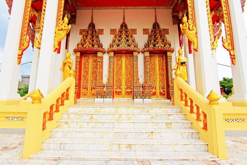 Wat Tham Bucha, Surat Thani, Tajlandia obrazy stock