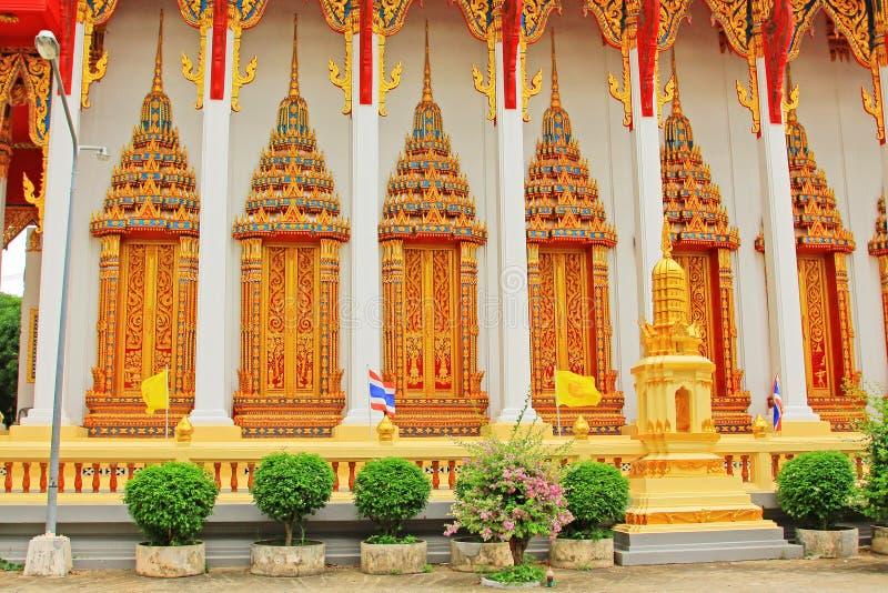Wat Tham Bucha, Surat Thani, Tajlandia obraz stock