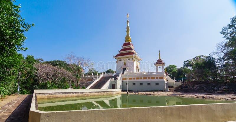 Wat Tham Kham photographie stock libre de droits