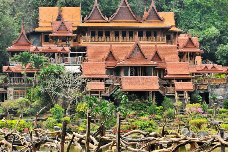 Wat Tham Khao Wong стоковое фото rf