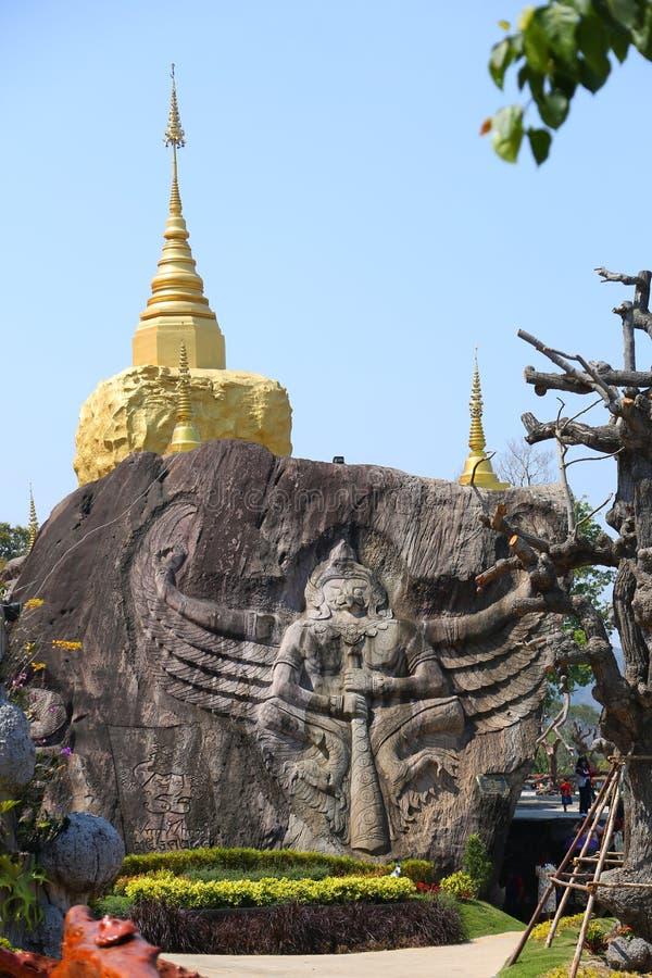 Wat Tham Pha Daen, Sakon Nakhon, Таиланд стоковое фото