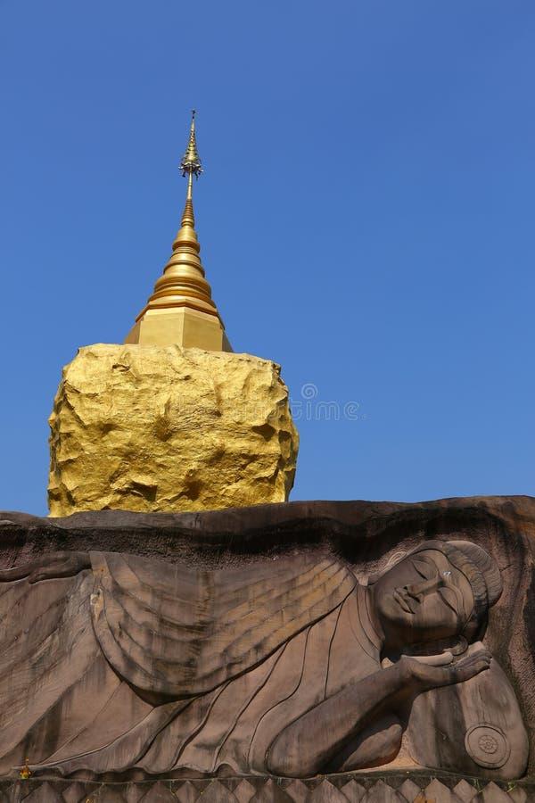 Wat Tham Pha Daen, Sakon Nakhon, Thailand stockbild