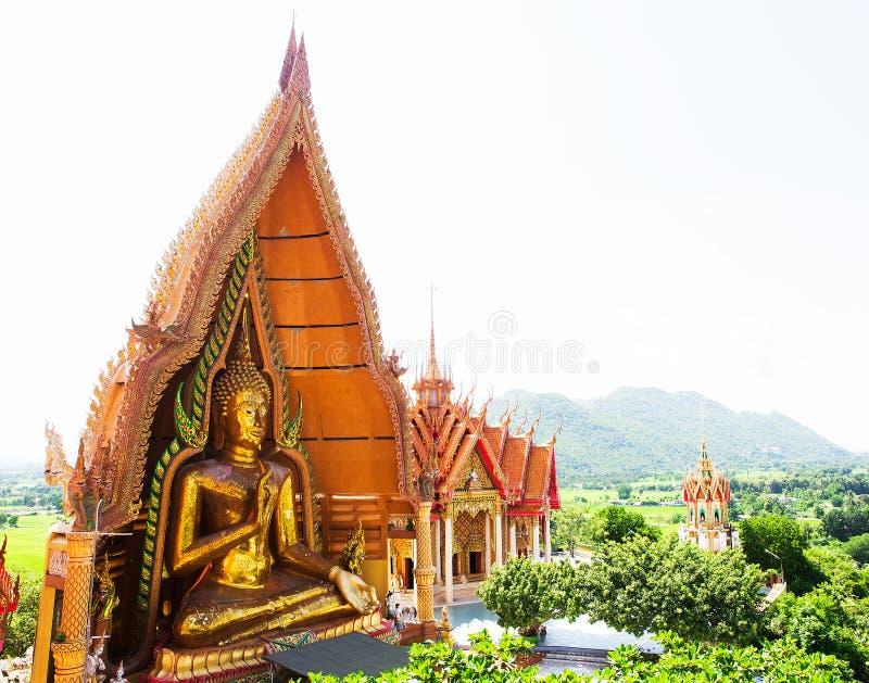 Wat Tham Sua (老虎洞寺庙), Tha蒙镇, Kanchanburi, Thailan 免版税图库摄影
