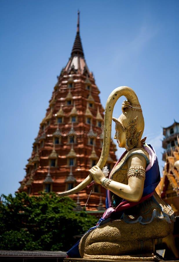 Wat Tham Sua, Kanchanaburi foto de archivo libre de regalías