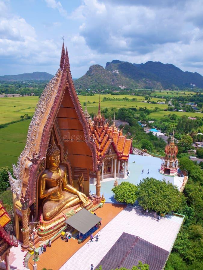 Wat Tham Sua (temple de caverne de tigre) photo libre de droits