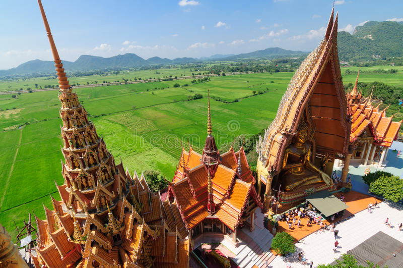Wat Tham Suea, Kanchanaburi fotografie stock