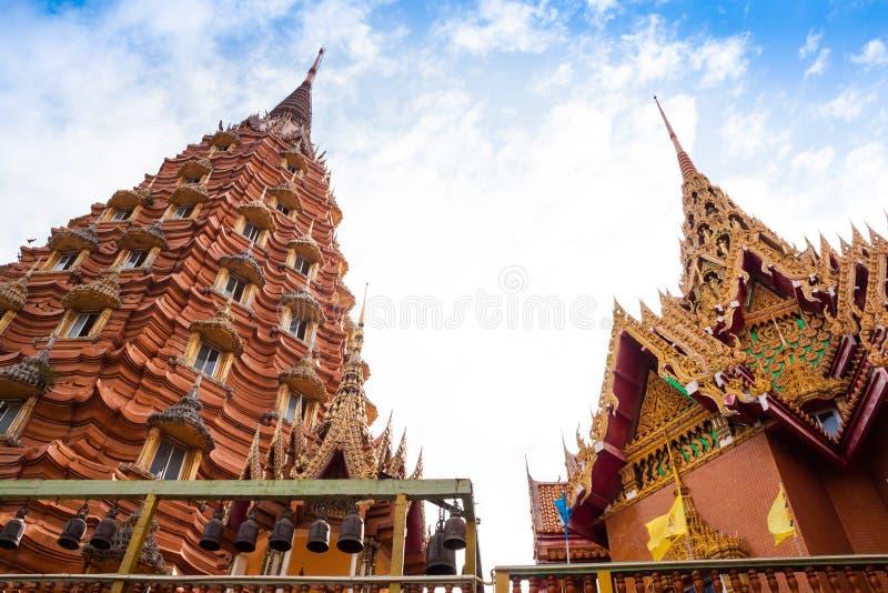 Thai temple,Wat Tham Suea stock photos