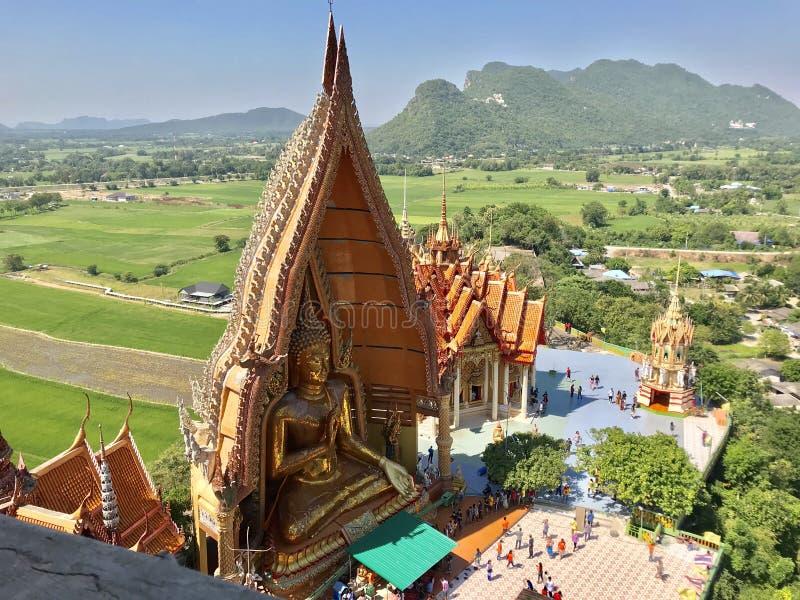 Wat Than Sua en Thaïlande, Kanchanaburi images libres de droits
