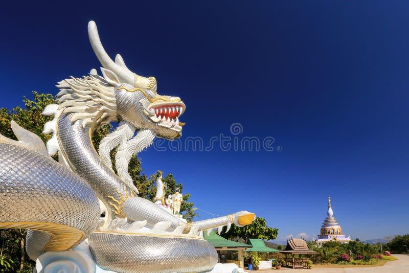 Wat Thaton,佛教寺庙在清迈,泰国 免版税库存图片
