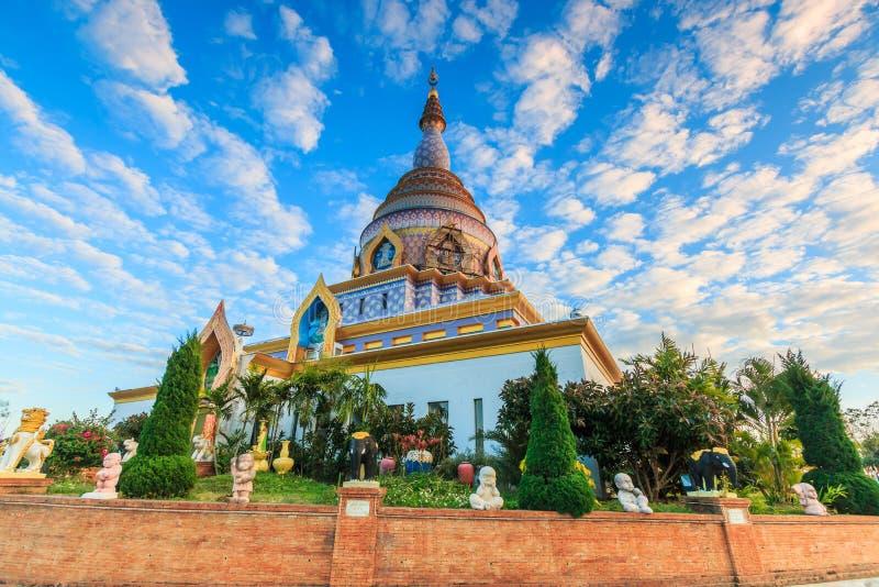WAT THATON在泰国 库存照片