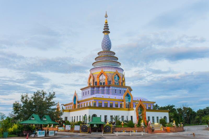 Wat thaton在Chiangmai泰国的北部 免版税库存图片