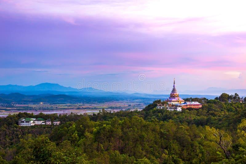 Wat Thaton (Thaton寺庙) 免版税图库摄影