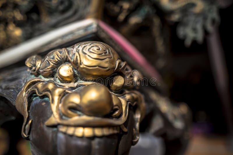 Wat Thawon Wararam är härlig och fridsam ställe ett kloster, i Hat Yai Songkhla Thailand arkivbilder