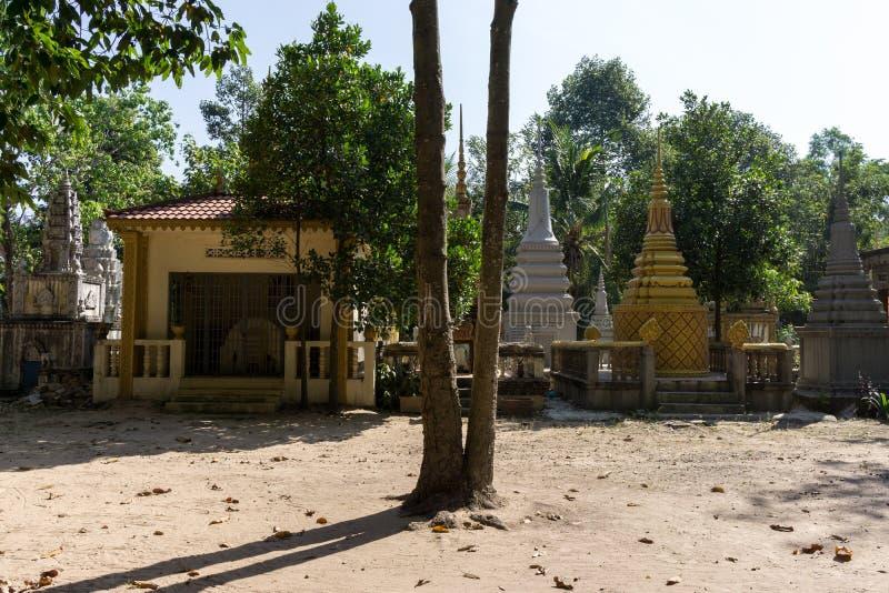 Wat Thmey Killing Field royalty-vrije stock fotografie