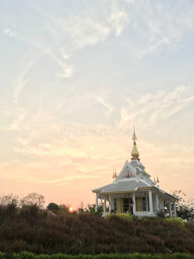 Wat thung集合发球区域 库存照片