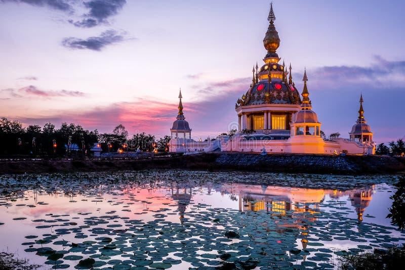 Wat Thung Setthi在Khon Kaen泰国 免版税库存图片