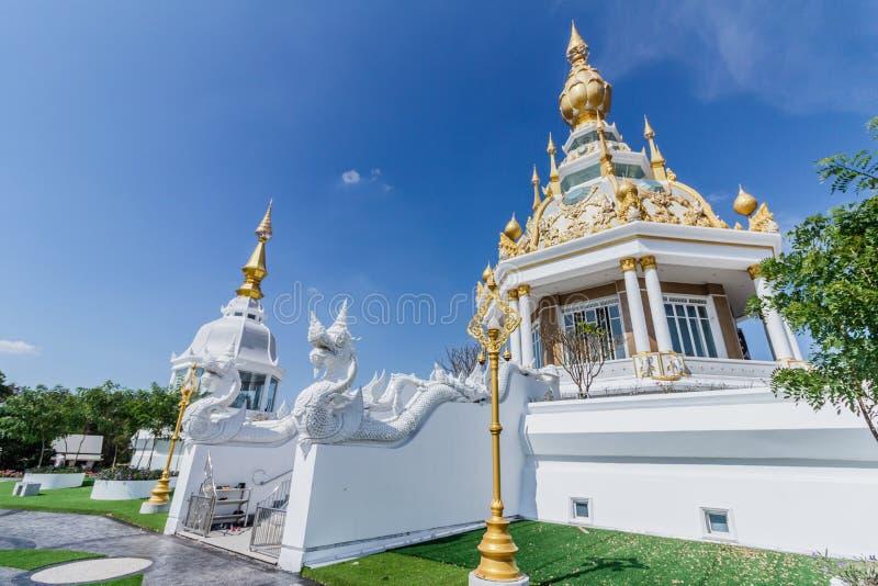 Wat Thung Setthi-tempel, Khon Kaen, Thailand royalty-vrije stock fotografie