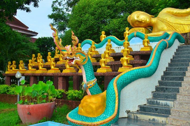 Wat Thung Yang at Uttaradit province stock image