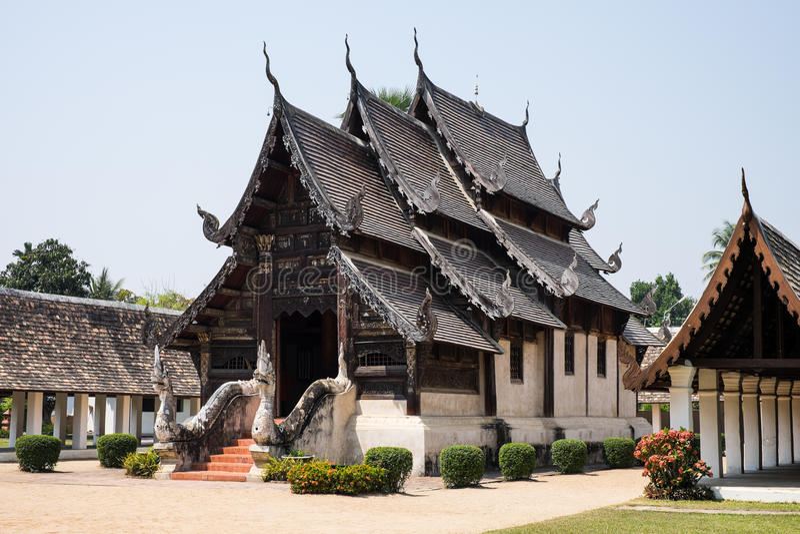 Wat Ton Kain Temple fotografia stock
